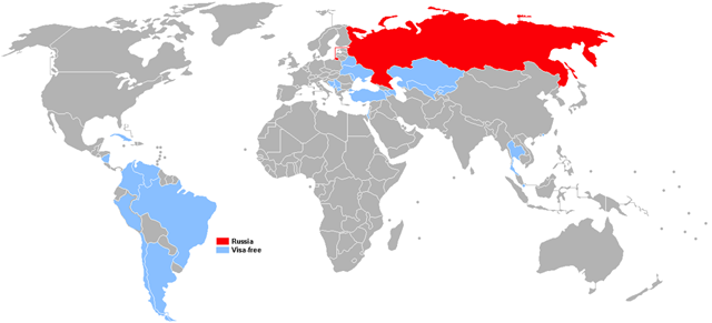 Visa policy of Russia